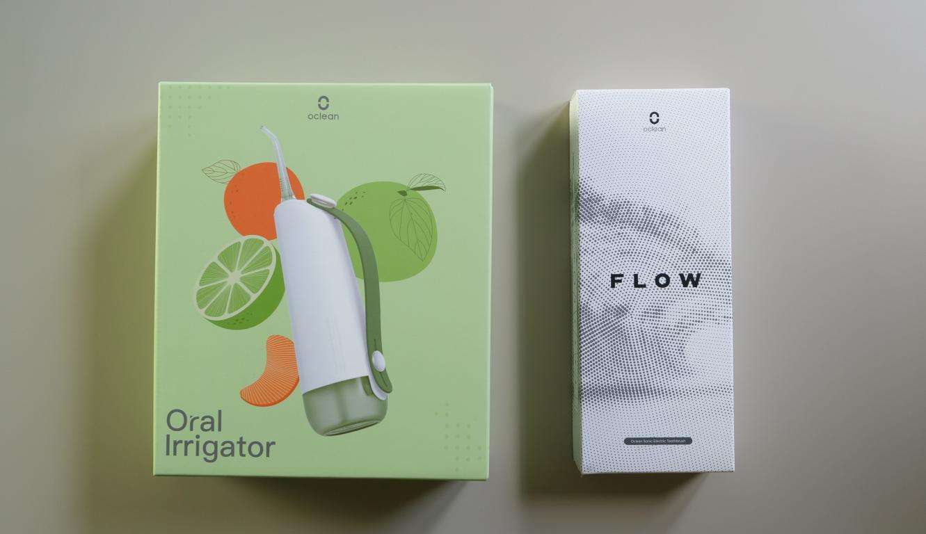 Oclean W10 i Oclean Flow - pudełka