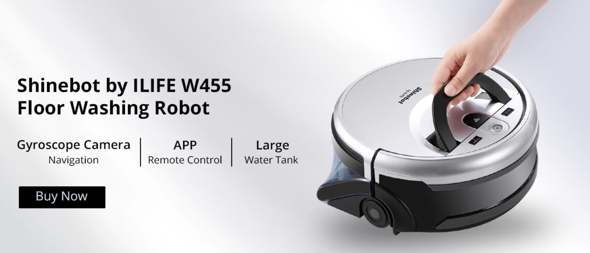 Shinebot by iLife W455 - Floor Washing Robot - robot mopujący podłogi