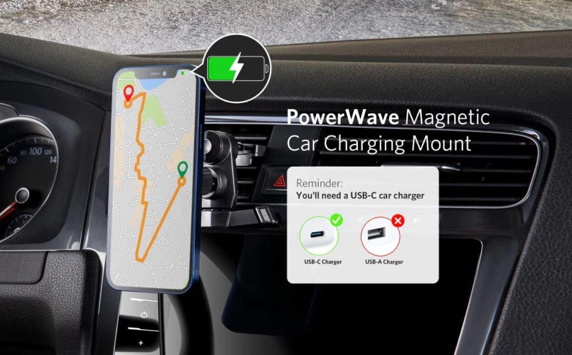 Super szybkie ładowarki do najnowszego iPhone 13 - taniej niż myślisz - samochodowa ładowarka magnetyczna Anker