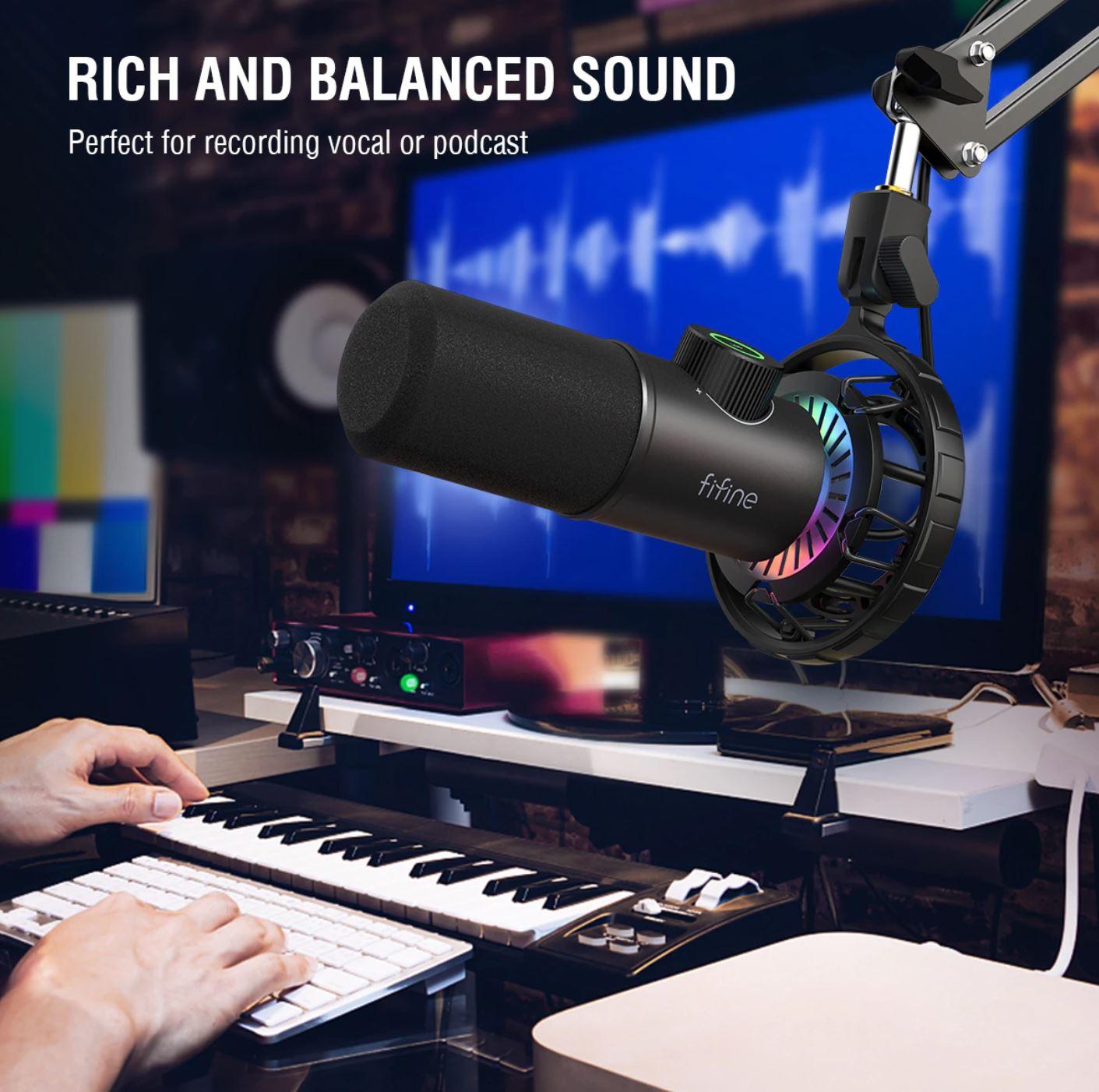 Wrześniowe premiery w AliExpress - skorzystaj z promocji - mikrofon do podcastów i streamingu - fifine