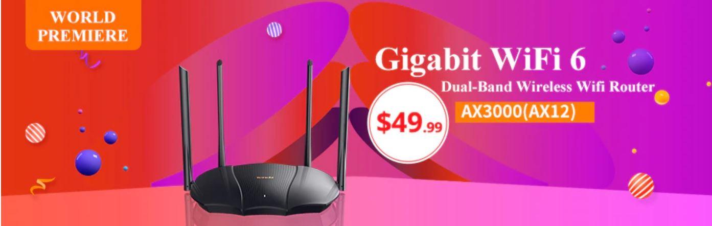 Wrześniowe premiery w AliExpress - skorzystaj z promocji - router wi-fi 6 - Tenda AX12