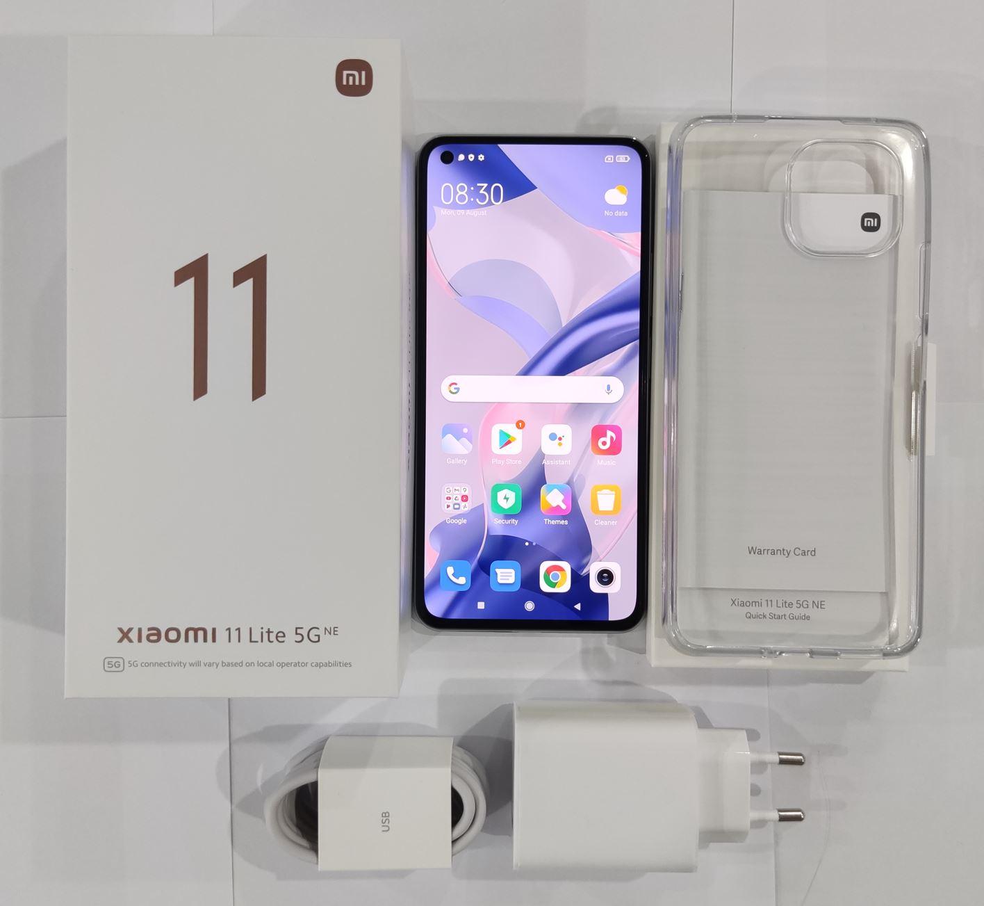 Xiaomi 11 Lite 5G NE - unboxing