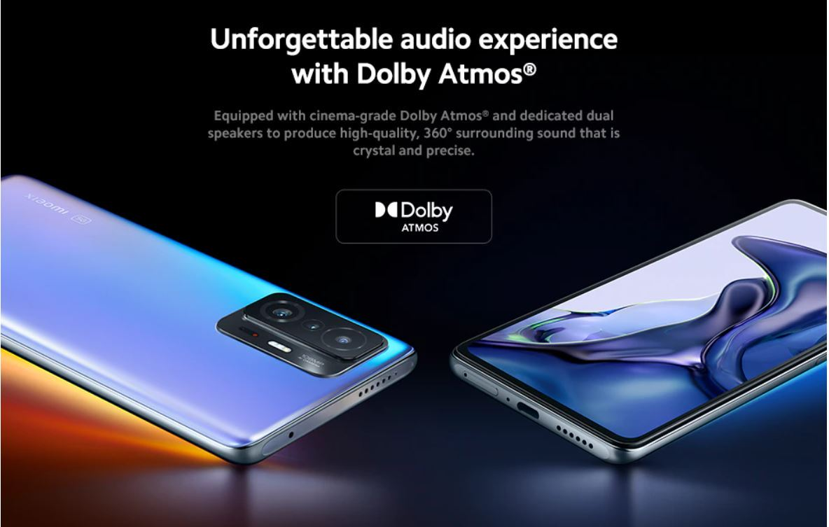 Xiaomi 11T - Dolby Atmos