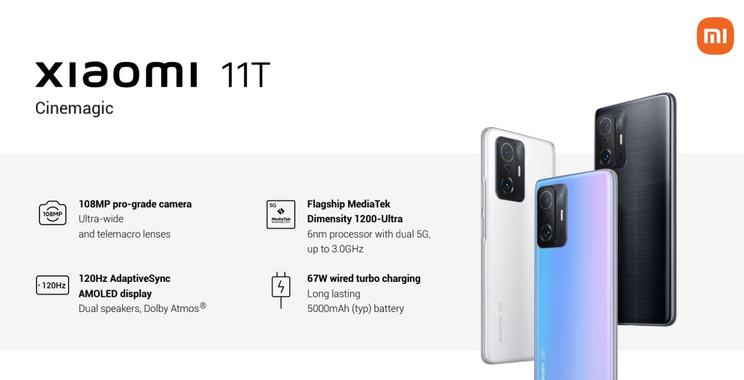 Xiaomi 11T - parametry