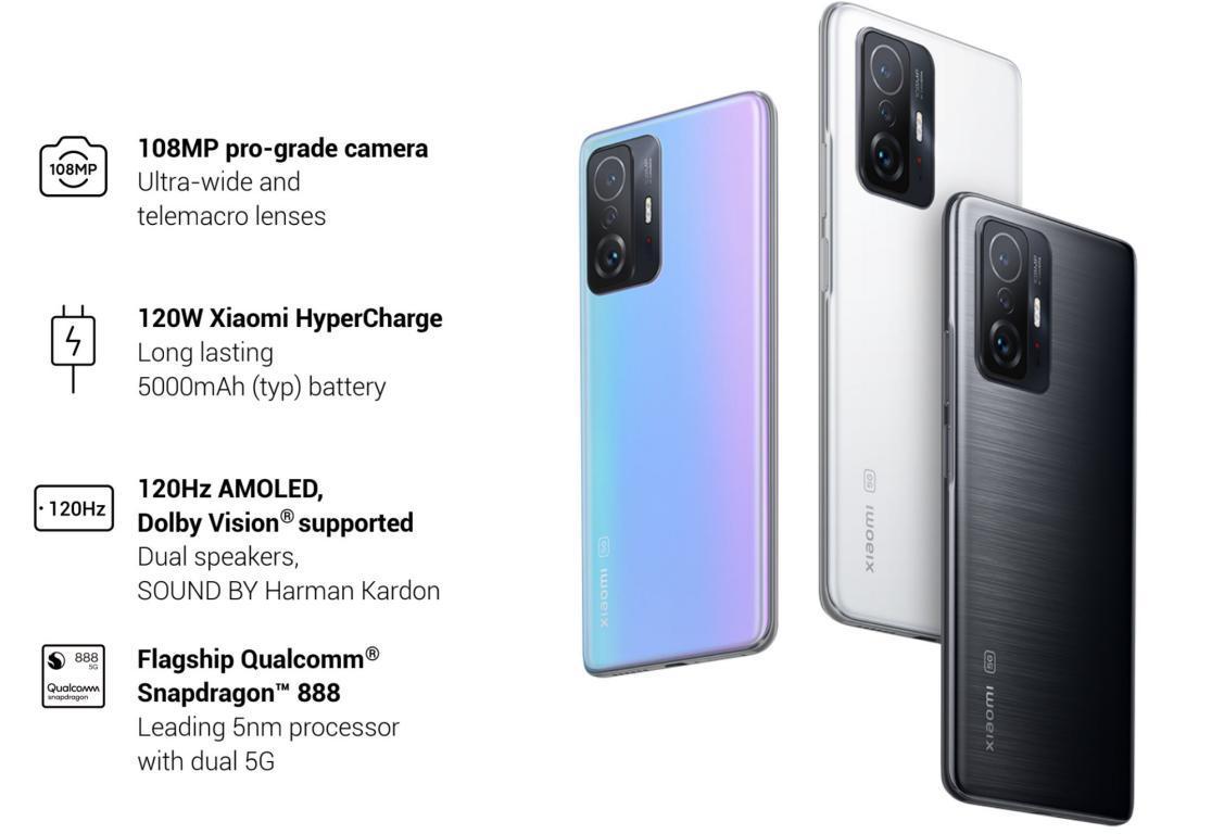 Xiaomi Mi 11T Pro - parametry