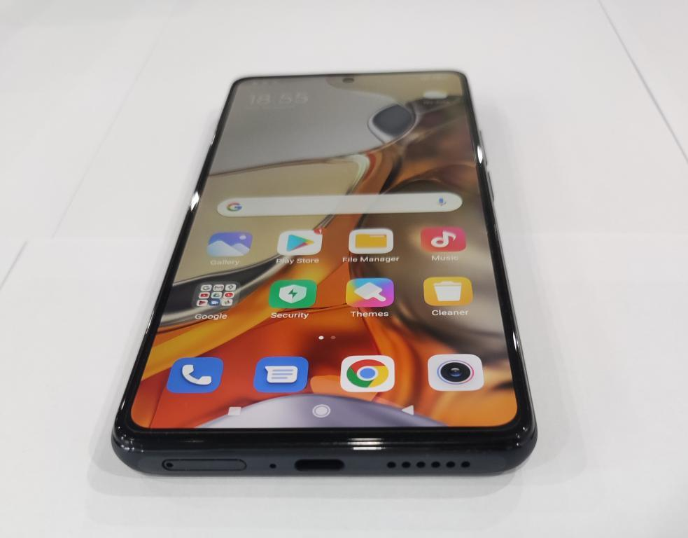 Xiaomi Mi 11T Pro - prawdziwe foto - front ekranu