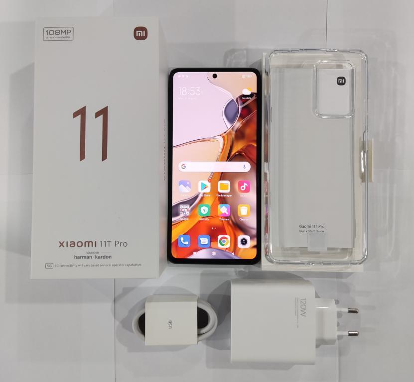 Xiaomi Mi 11T Pro - prawdziwe foto - zestaw - unboxing