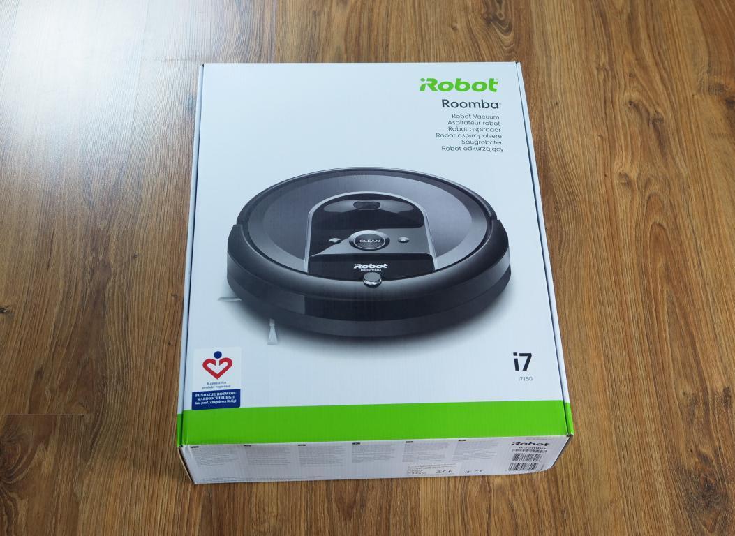 recenzja iRobot Roomba i7 - pudełko