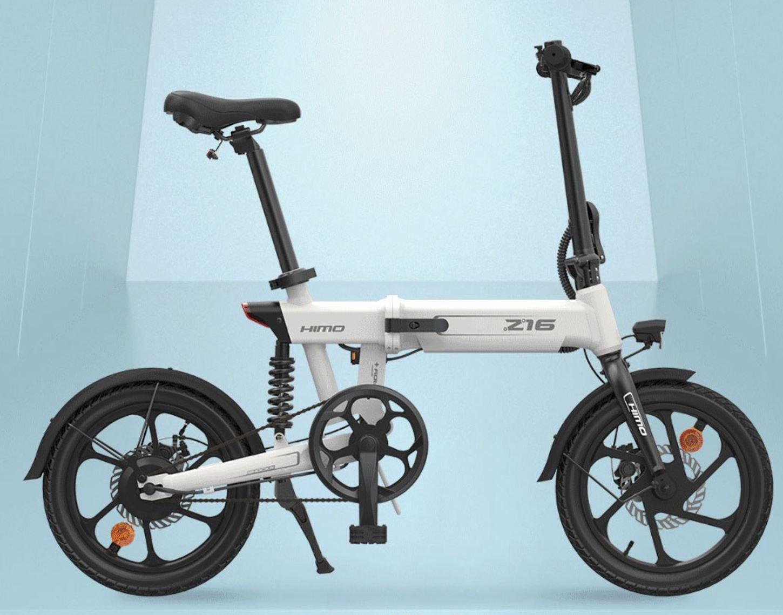 rower elektryczny HIMO Z16 - biały