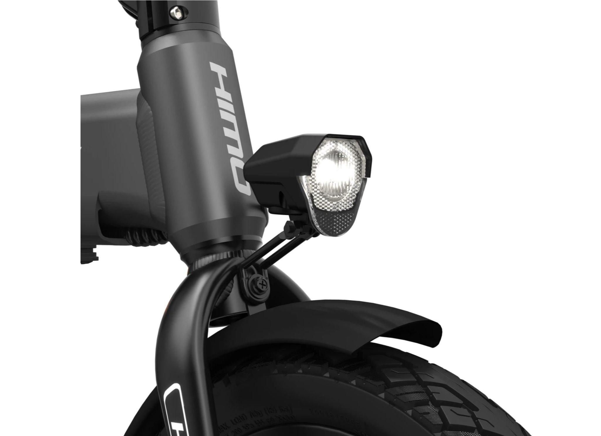 rower elektryczny HIMO Z16 - lampa