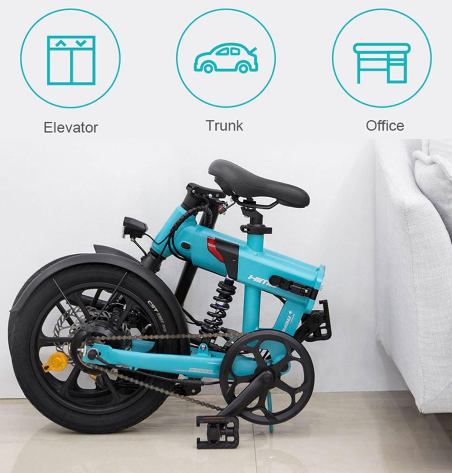 rower elektryczny HIMO Z16 - po złożeniu