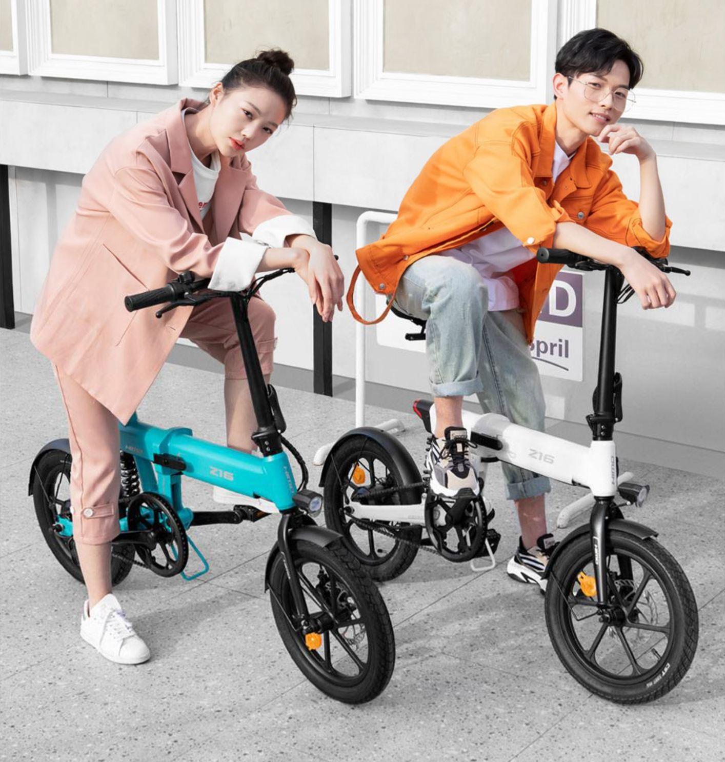 rower elektryczny HIMO Z16 - prezentacja roweru