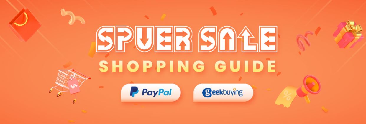 super sale w geekbuying.com - opis promocji