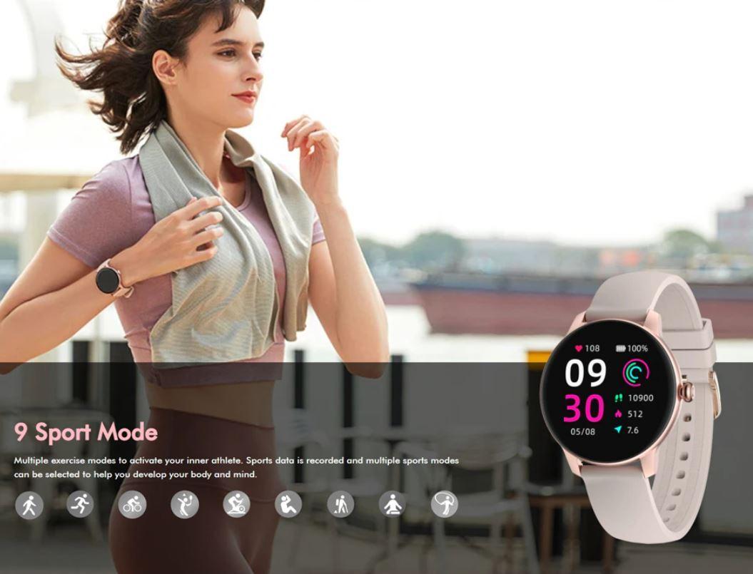 damski smartwatch IMILAB W11 - 9 sportów