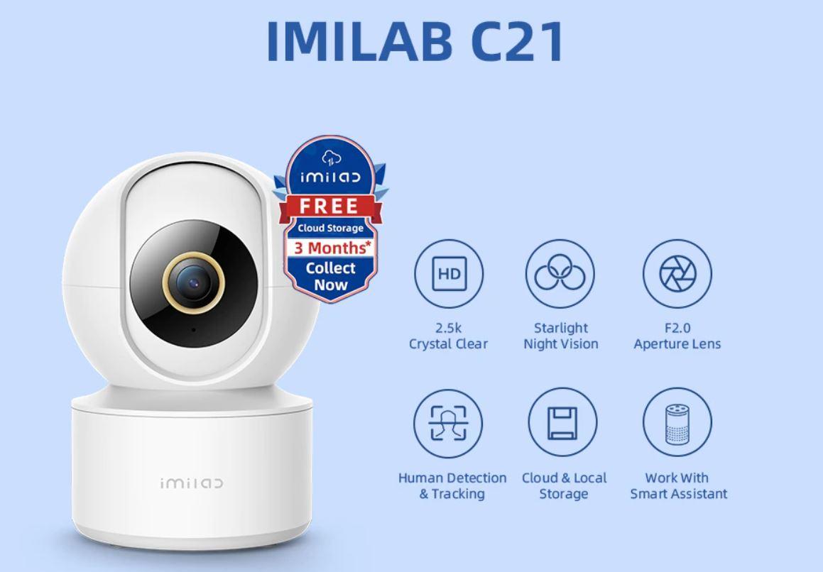 promocja kamery IP IMILAB C21