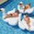 Odkrywaj trendy - nowa promocja Aliexpress - basenowe dmuchane łabędzie